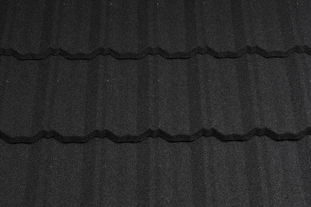 Țiglă metalică Metrotile Classic Coal Black