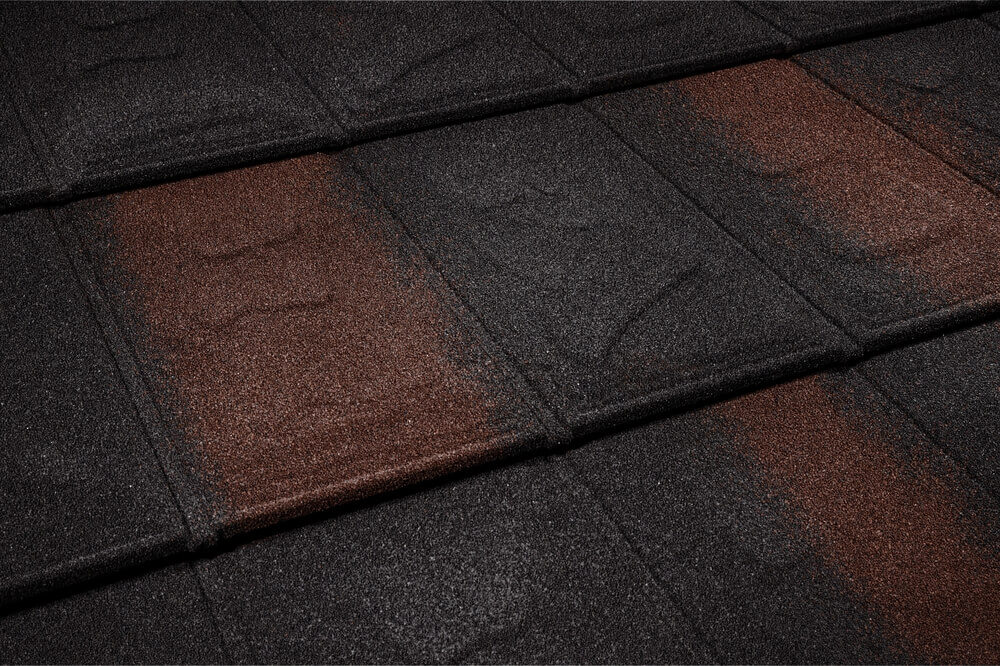 Țiglă metalică Metrotile iSlate Black brown