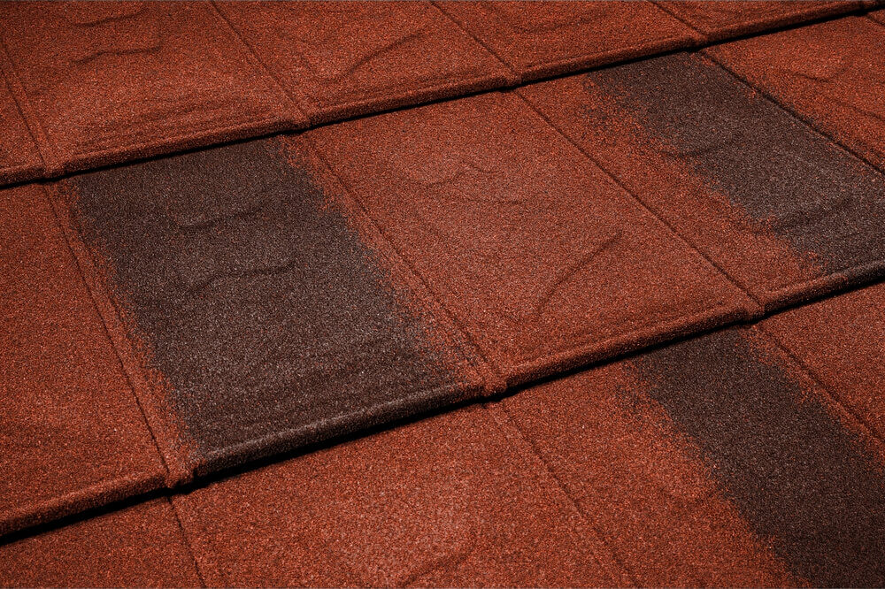 Țiglă metalică Metrotile iSlate Red Brown
