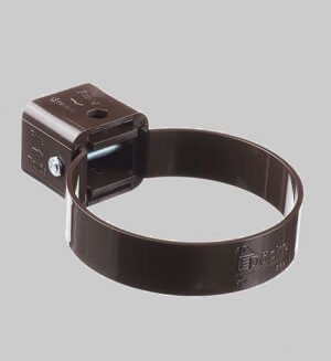 Водосточная система из пластика Docke standart Collar clamp Chocolate