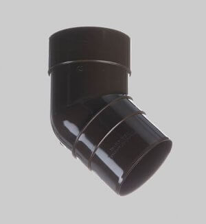 Водосточная система из пластика Docke standart Pipe elbow 45° Chocolate
