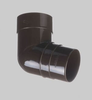 Водосточная система из пластика Docke standart Pipe elbow 72° Chocolate