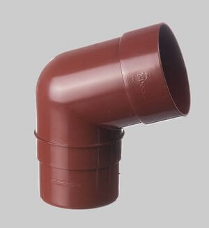 Водосточная система из пластика Docke standart Pipe elbow 72° Pomegranate